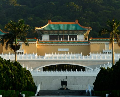 故宮博物院正館 Main building, National Palace Museum, Taipei, Taiwan. 2008/7/2