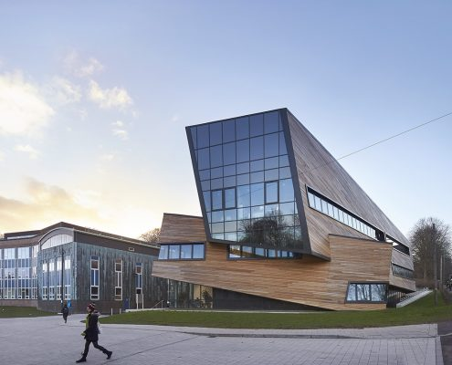 Garbers & James Executive Architect for Studio_Libeskind_The_Ogden_Centre_Durham_University_©Hufton+Crow_006