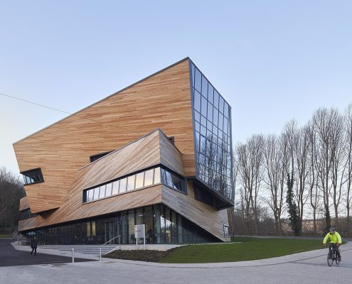 Garbers & James Executive Architect for Studio_Libeskind_The_Ogden_Centre_Durham_University_©Hufton+Crow_023